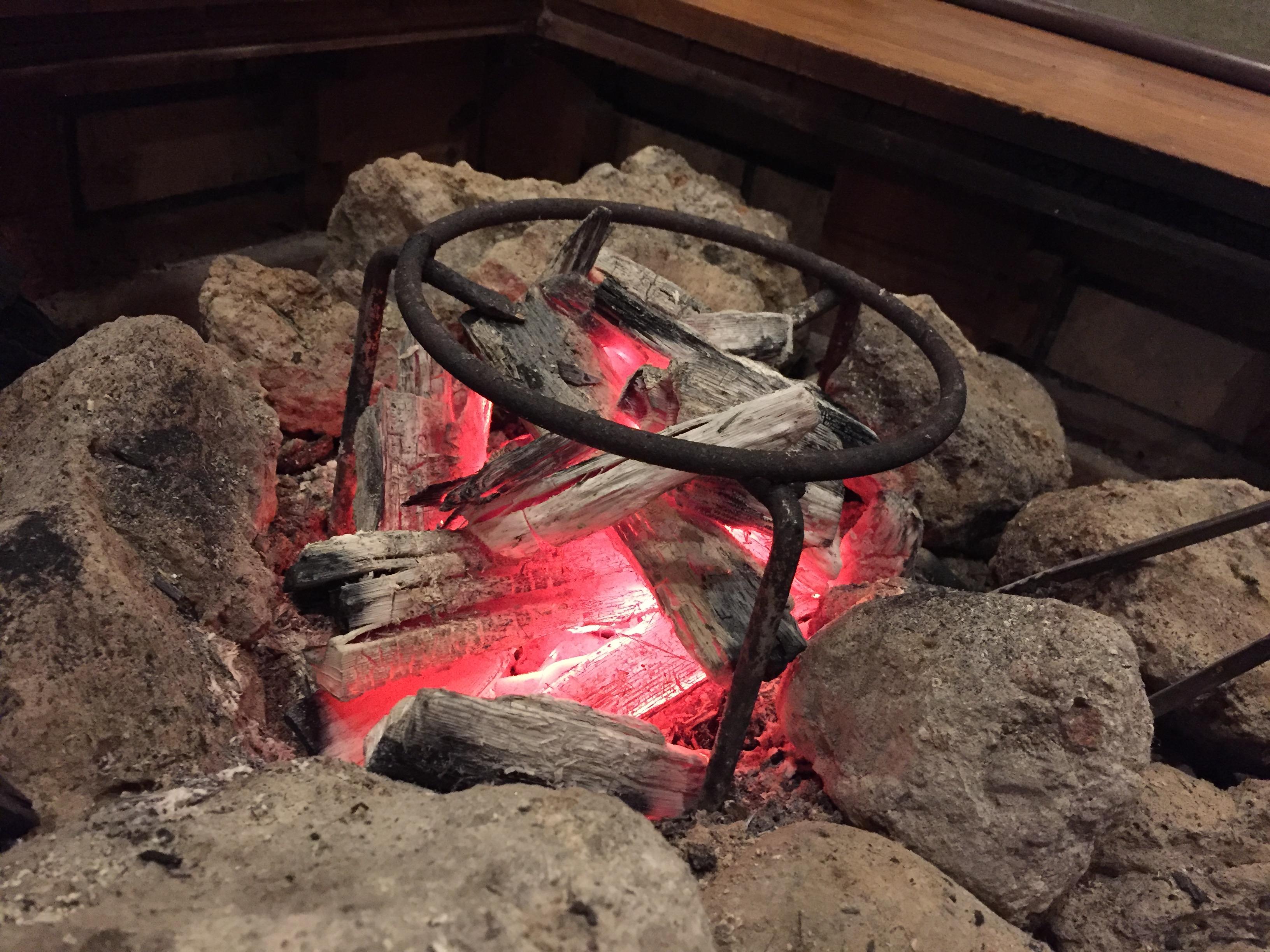 炭焼き神鍋白炭