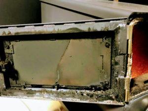 耐熱ガラス破損